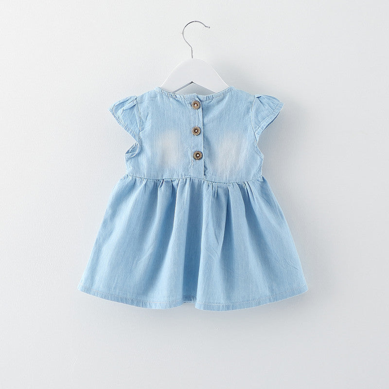 Bow Dress For Baby Girls
