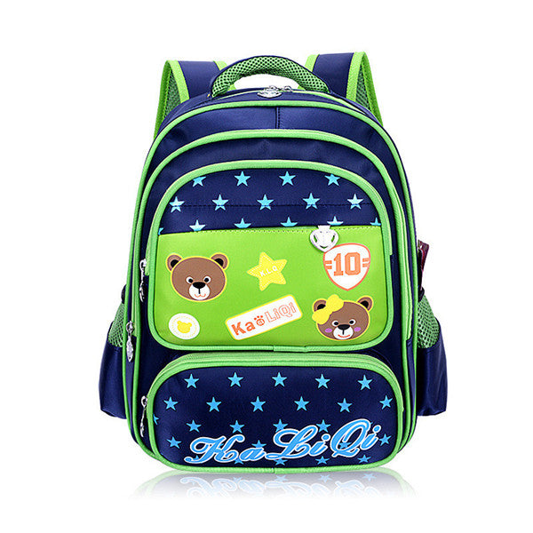 Bear Polka Dot School Bags