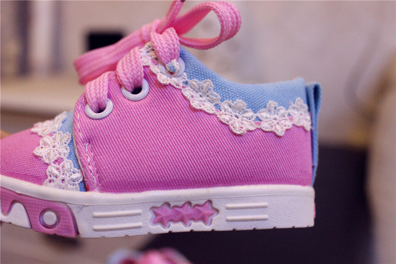 Baby Girl Lace Shoes