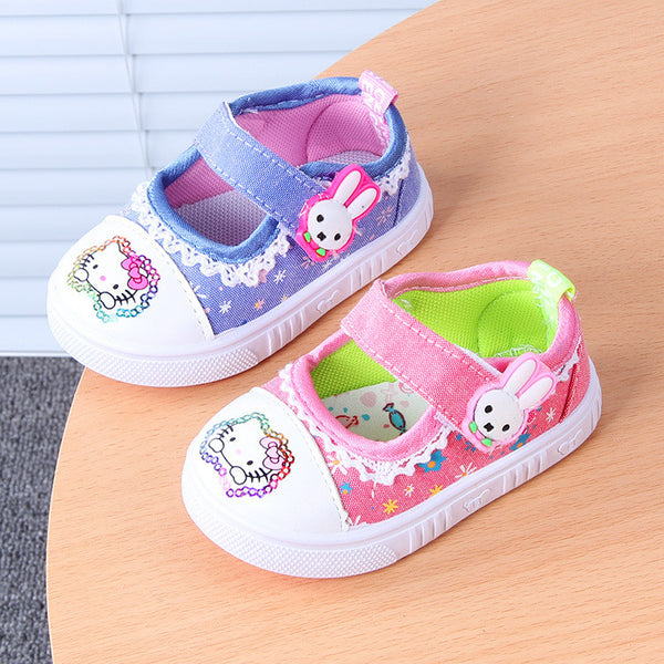 Baby Girl Canvas Shoes