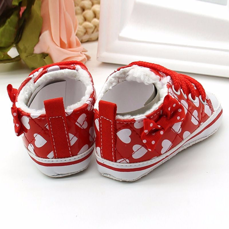 Bow Knot Baby Sneakers