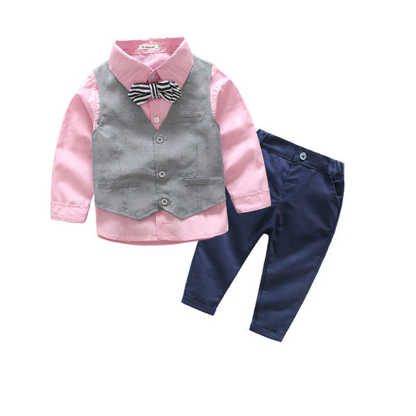 3 Pcs Gentleman Set