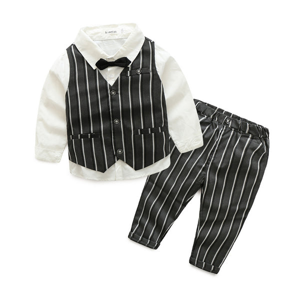 3 Piece Striped Set