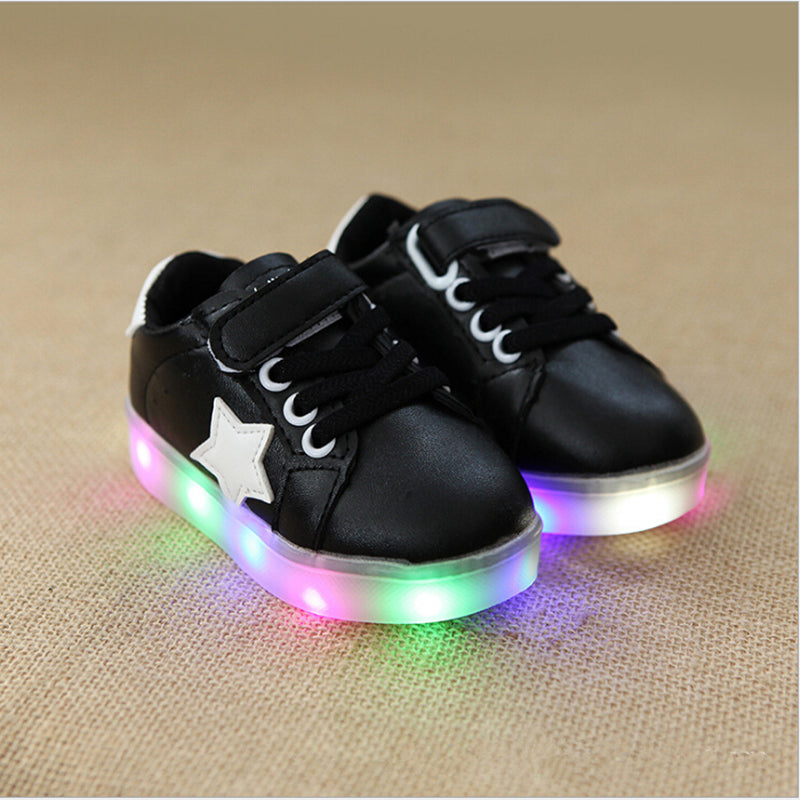 Star Sneakers with LED Sole