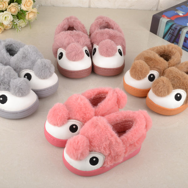 Cartoon Eyes Winter Shoes