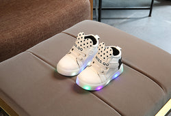 Mickey Mouse High Top LED Shoes