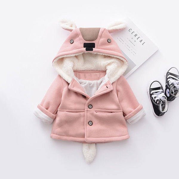 Rabbit Ear Hooded Jacket
