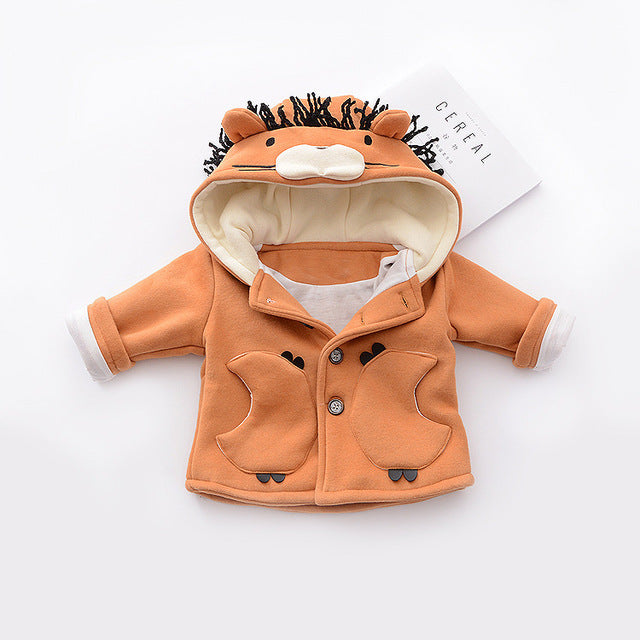 Lion Hooded Jacket