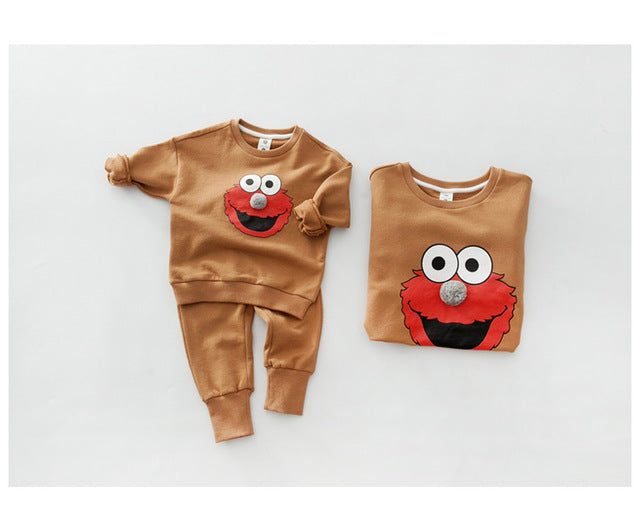 Cartoon Matching Outfit