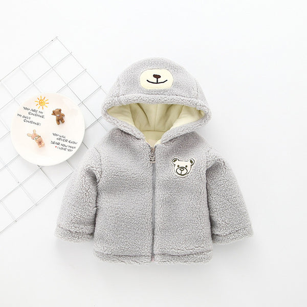 Cartoon Bear Jacket