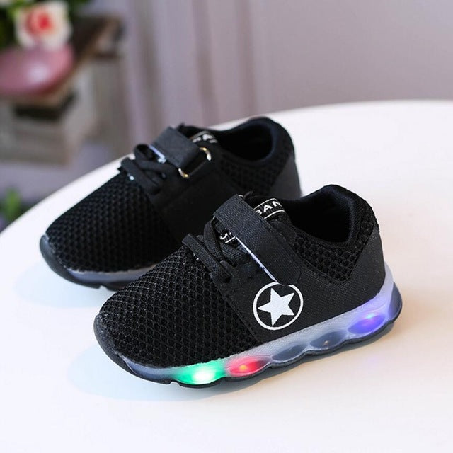 Star Mesh LED Shoes