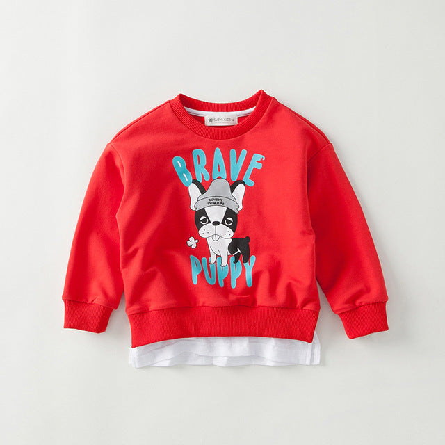 Brave Puppy Matching Sweatshirt