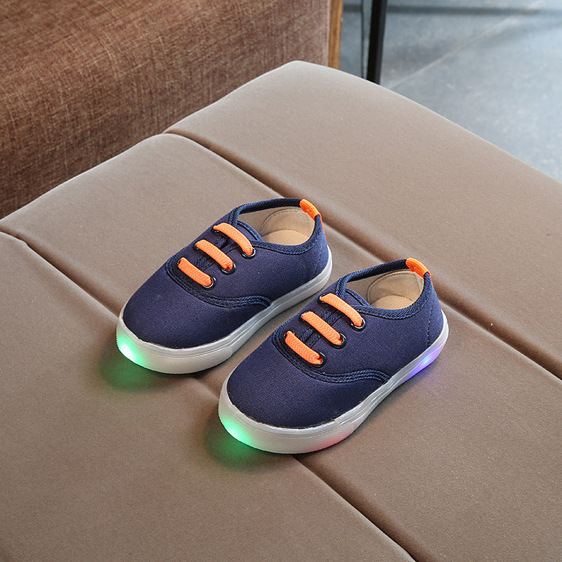 LED Canvas Sneakers