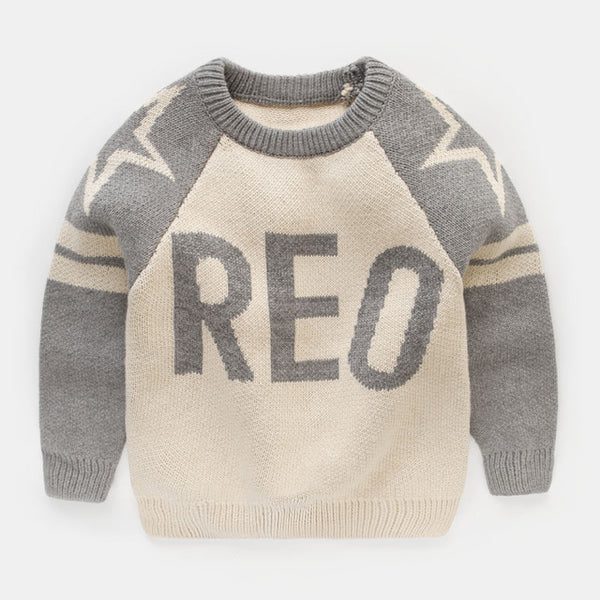 Reo Star Sweater