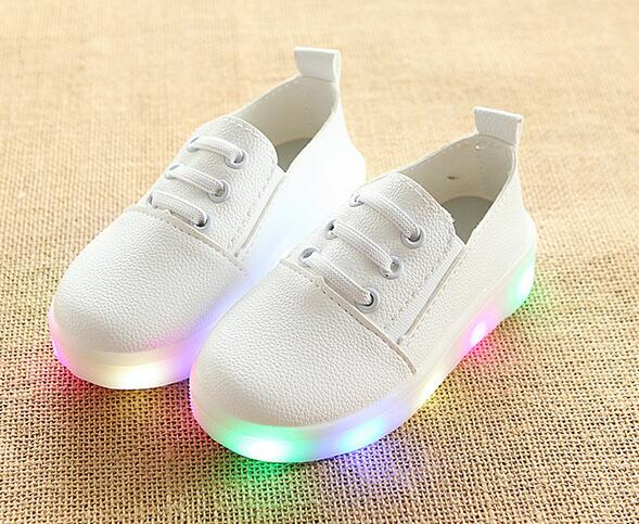 Leather LED Shoes