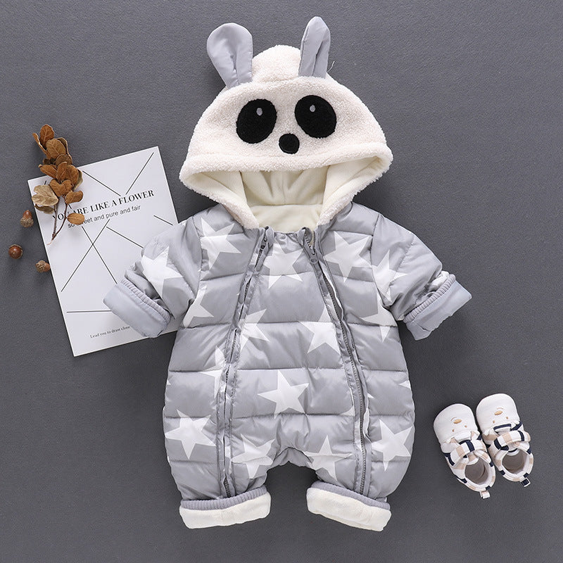 Cute Panda Winter Jumpsuit