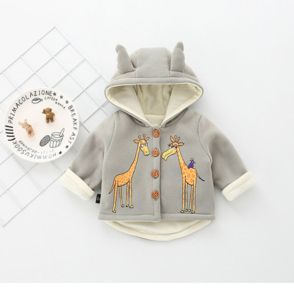Giraffe Winter Jacket