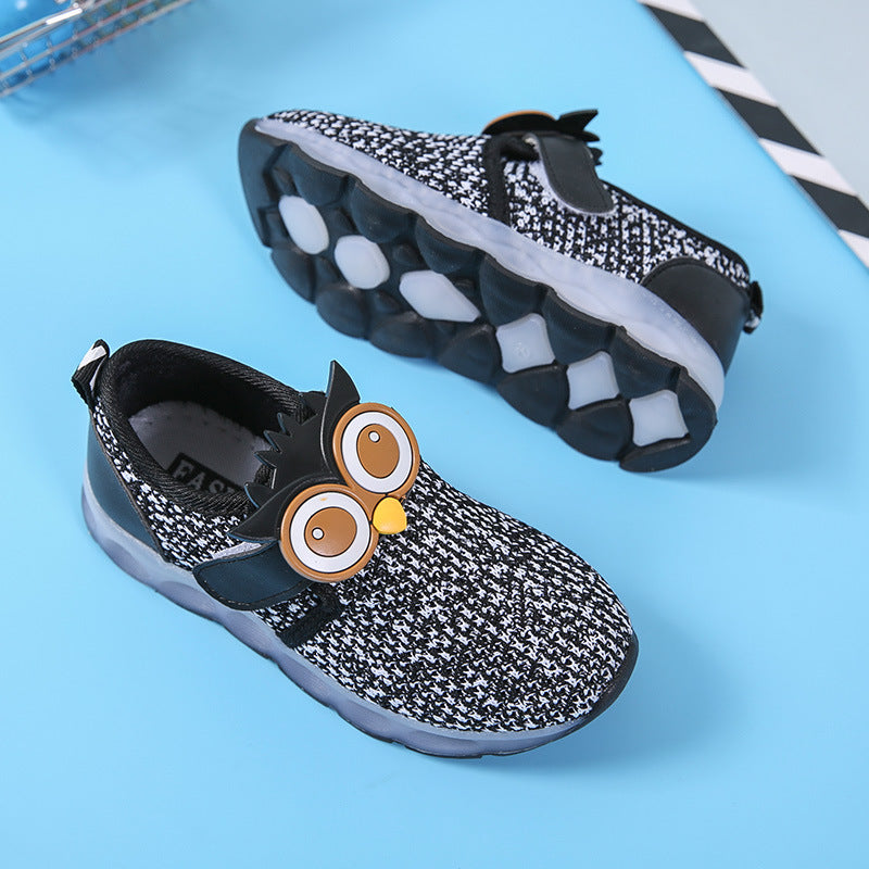 Owl Eyes LED Sneakers