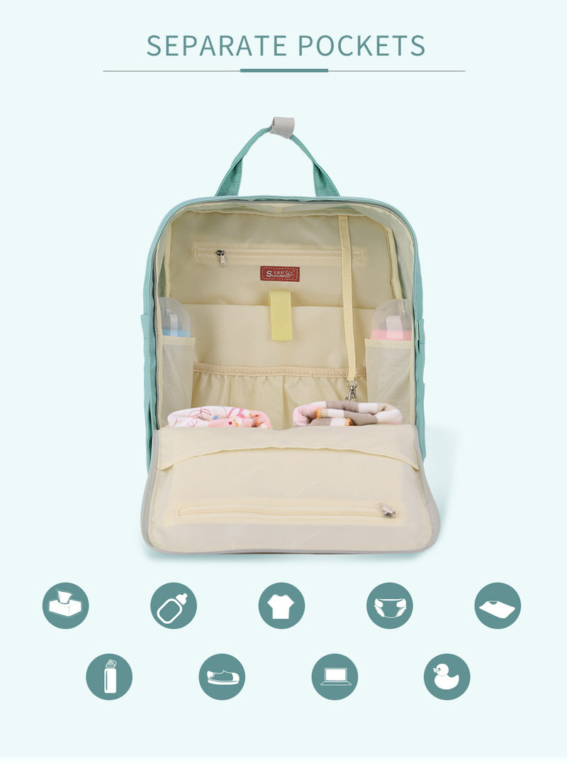 Large Capacity Diaper Bag