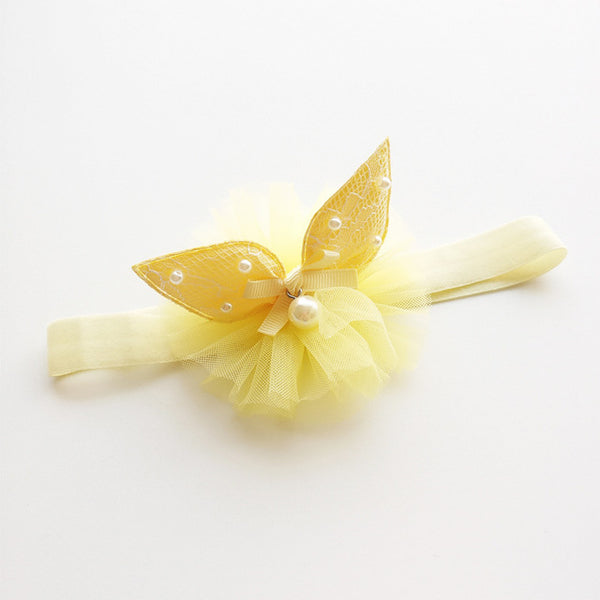 Yellow Rabbit Ear Headband