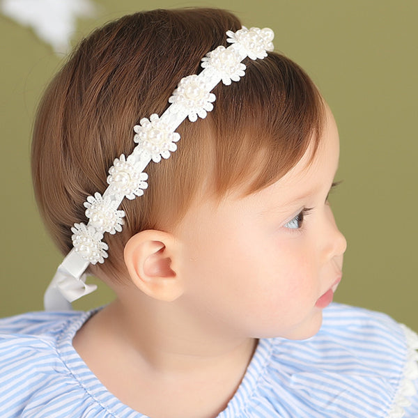 Flowers Beaded Headband