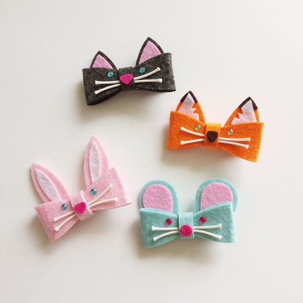 Cute Cartoon Animal Kids Hairpins