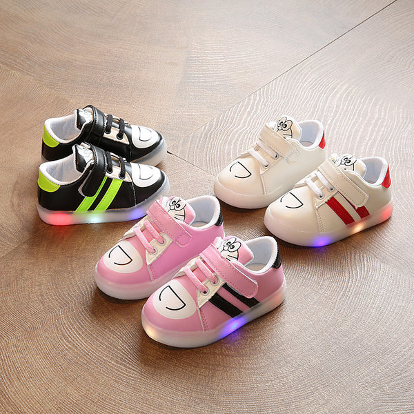 Cartoon Casual LED Sneakers