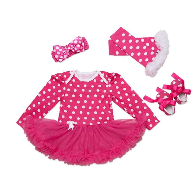 Polka Dots Tutu Dress for Baby Girls
