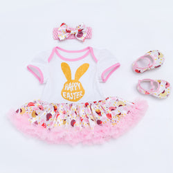 happy Easter Rabbit Tutu Dress
