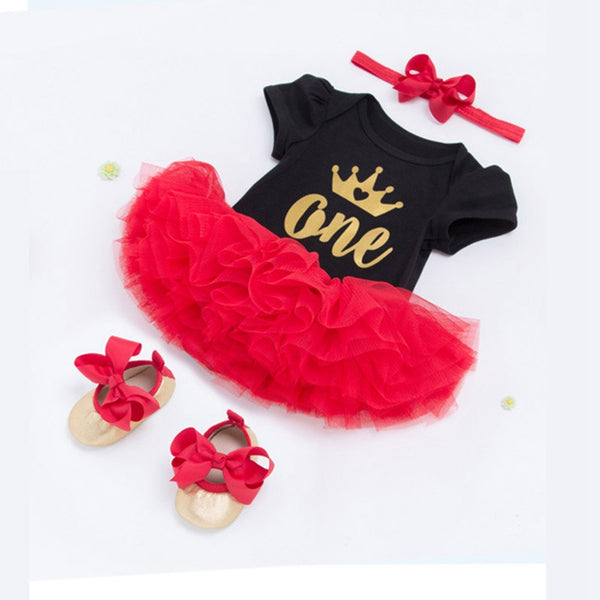 Birthday Tutu Dress for Baby Girls