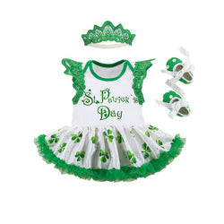 Patrick's Day Tutu Dress for Baby Girls