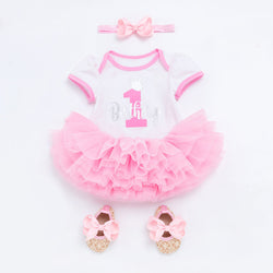 First Birthday Tutu Dress for Baby Girls