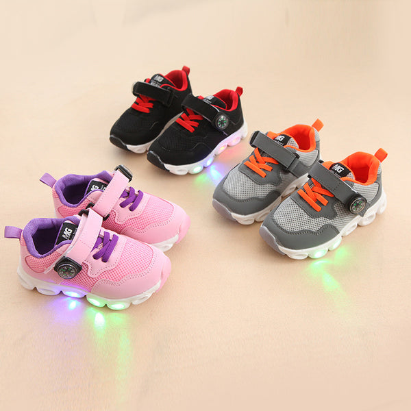 Sporty LED Shoes for Kids