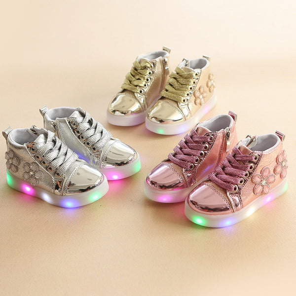 Flower High LED Boots