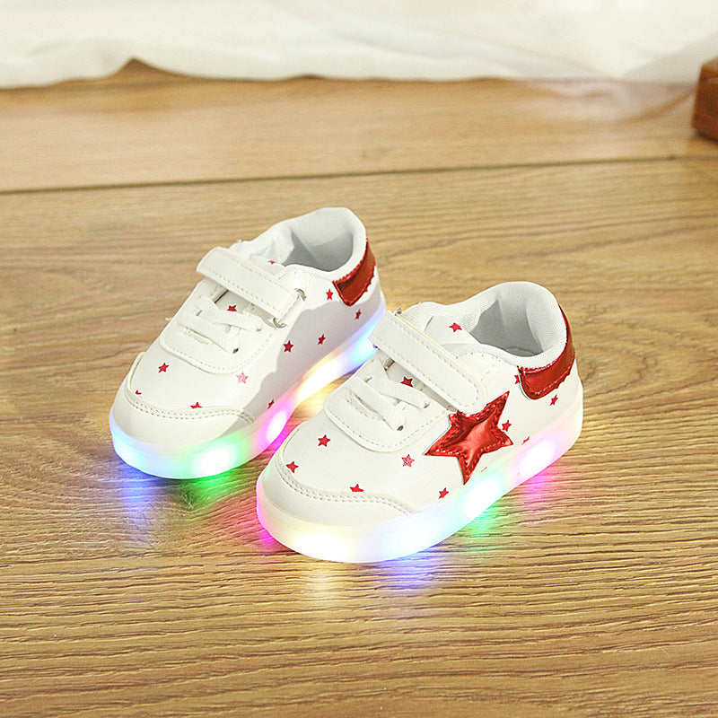 Star LED Shoes for Kids