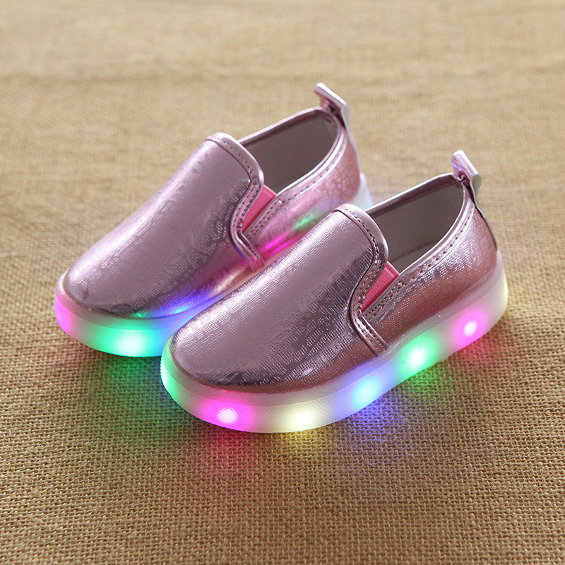 Glowing LED Shoes for Kids