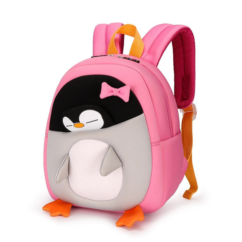 Penguin Waterproof School Bag