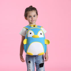 Cartoon Penguin Waterproof School Bag