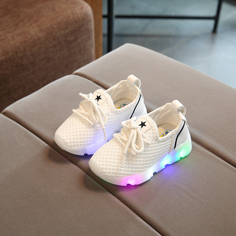 Star LED Sneakers For Kids