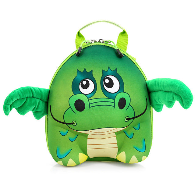 3D Cartoon Animal School Bag