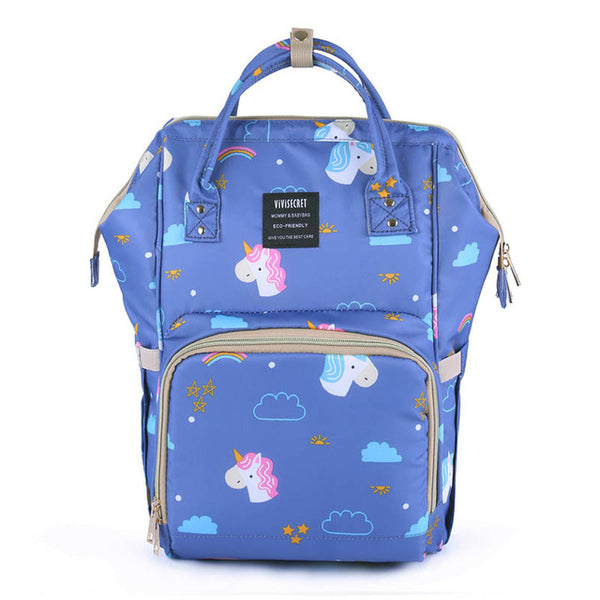 Printed Waterproof Diaper Bags