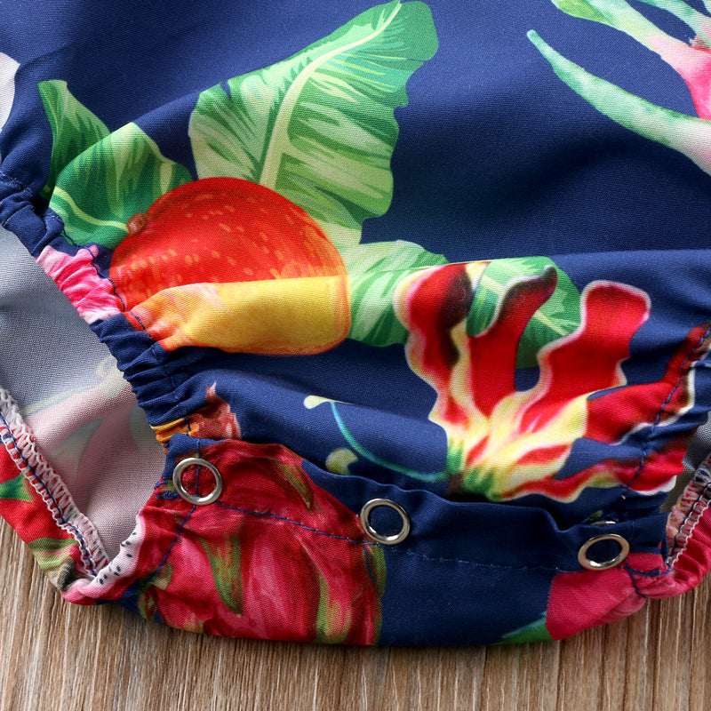 Fruit Jumpsuit With Headband