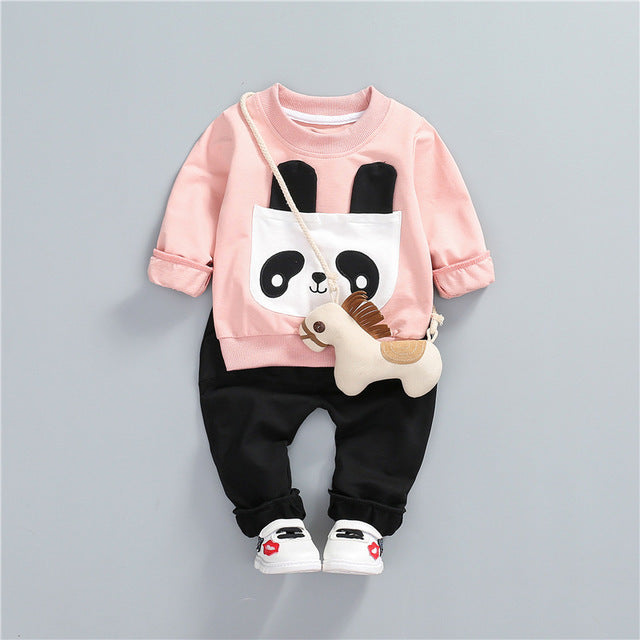 Cute Panda Set For Kids
