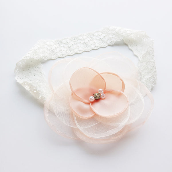 Flower Elastic Headband