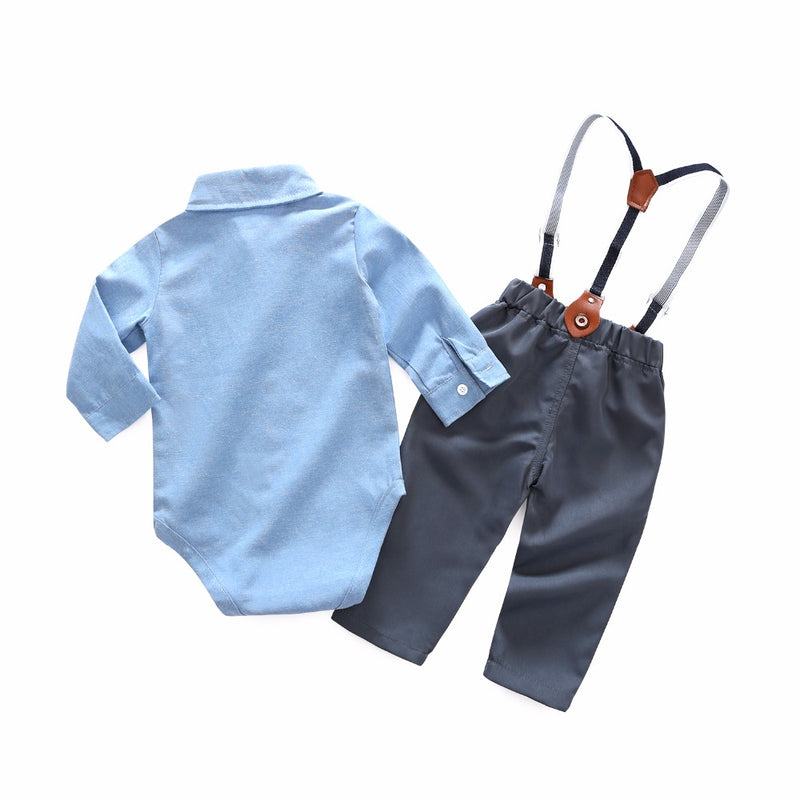 Formal Baby Set with Suspenders