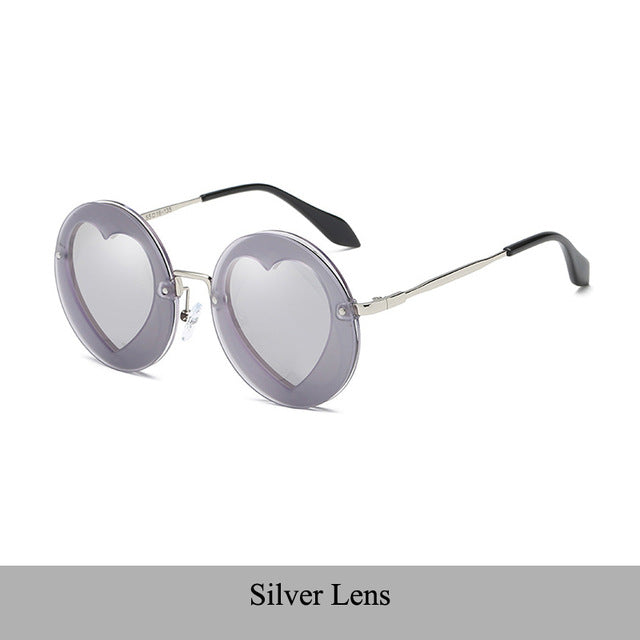 Heart Shape Sunglasses