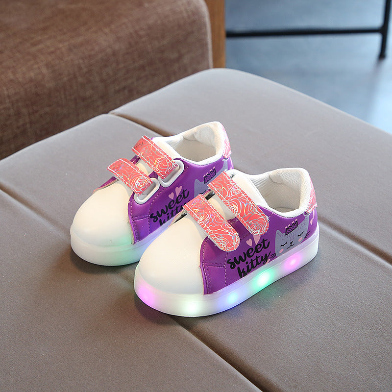 Sweet Kitty LED Shoes