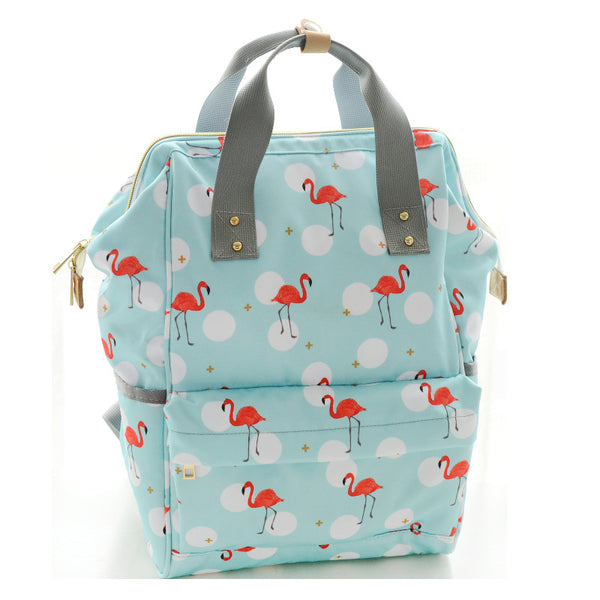 Printed Nappy Bag