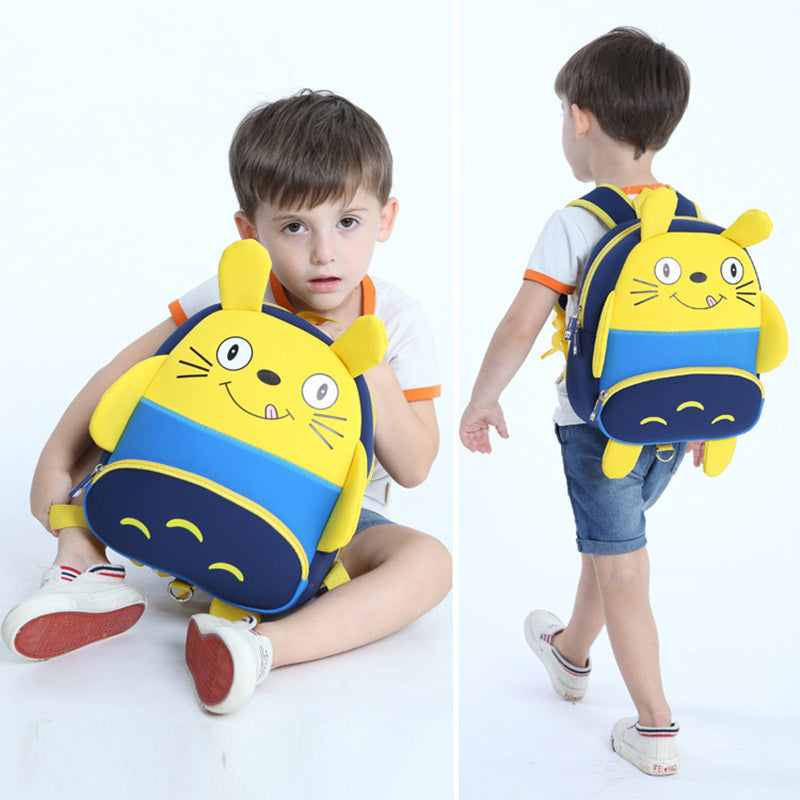 Cute Cat Waterproof School Bag