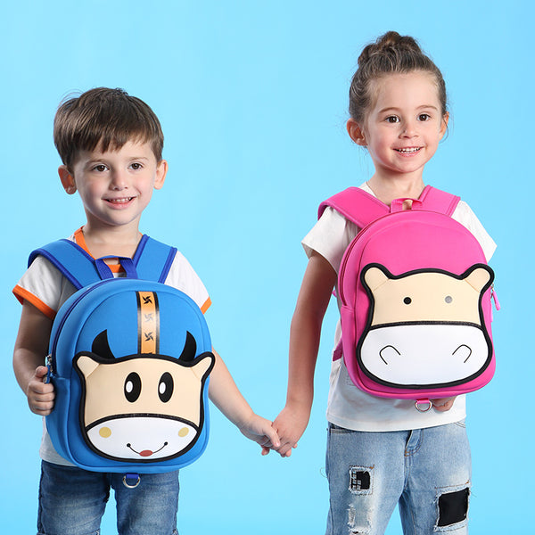Cow Waterproof School Bag